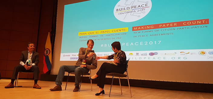 Paso Colombia at Build Peace Conference 2017