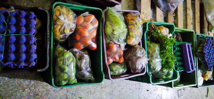 Bogota Food Shortages after Covid 19 - Produce