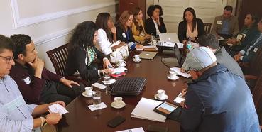 PASO Colombia presents at Casa de Narino