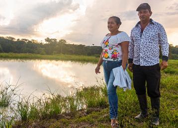 la piscicultura en Colombia rural