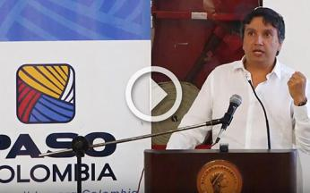 PASO Director Presents Report on 1900 Peace Initiatives in Colombia